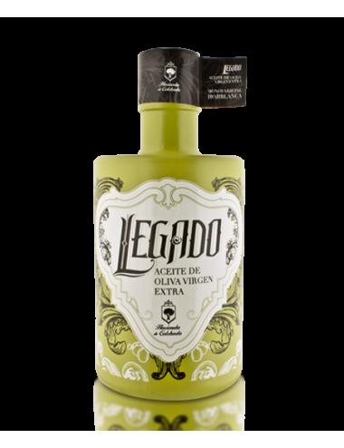 Aceite oliva virgen extra Legado