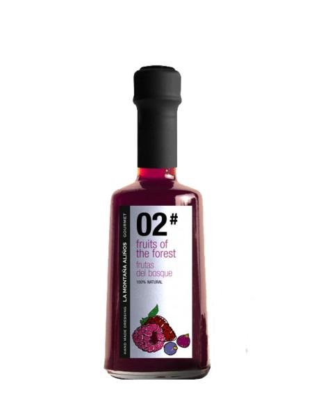 Aliño 02 Frutas del Bosoque La Montaña Aliños 250 ml