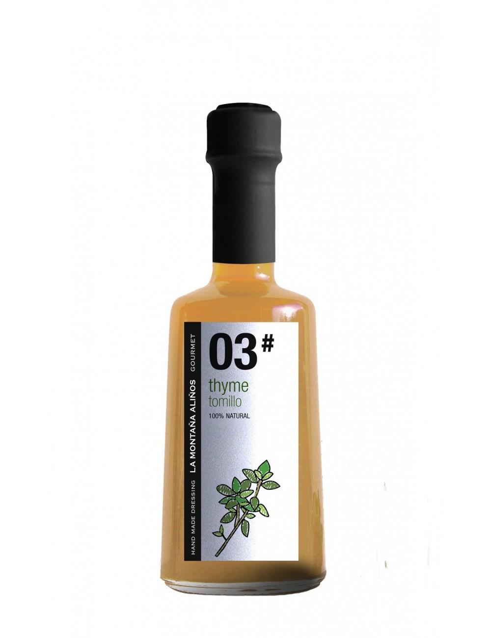 Aliño de Tomillo La Montaña Aliños 03 250 ml