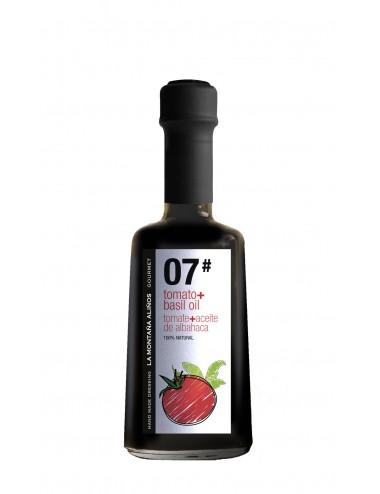 Aliño de Tomate con Aceite de Albhaca La Montaña Aliños 07 250ml