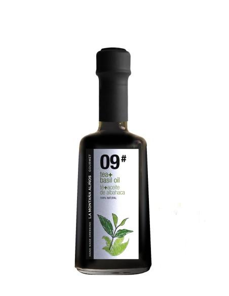 Aliño de Té con Aceite de Albahaca La Montaña Aliños 09 250ml