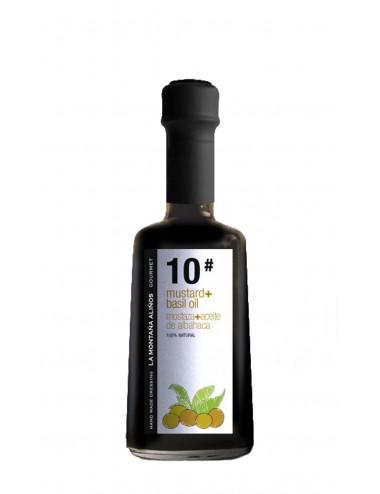 Aliño de Mostaza con Aceite de Albahaca La Montaña Aliños 10 250ml