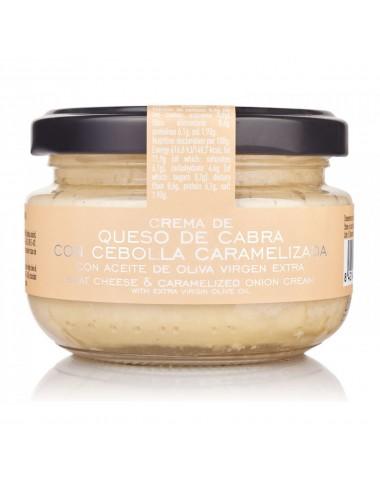 Crema de Queso de cabra con cebolla caramelizada La Chinata 125 g