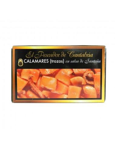 Calamares en Salsa Santoña El Pescador de Cantabria 120g