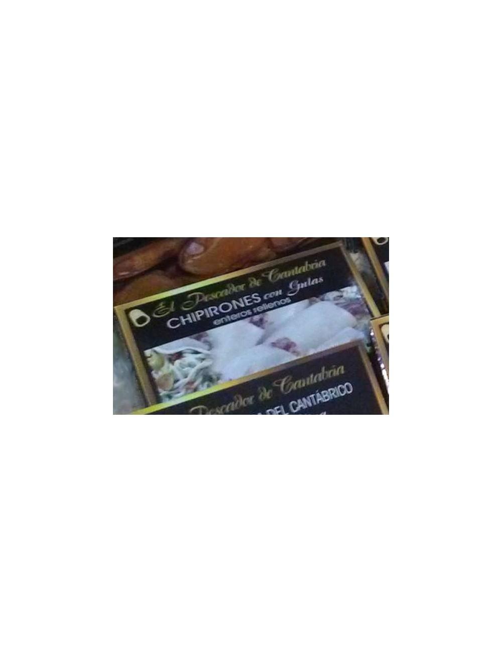 Chipirones Rellenos de Gulas El Pescador de Cantabria