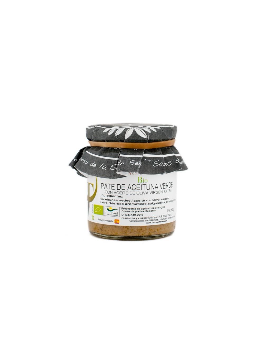 Paté de Aceituna Verde Tierras de Tavara  Bio