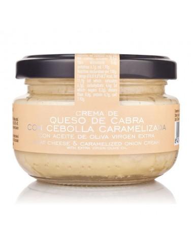 Crema de Queso de Cabra con cebolla Caramelizada La Chinata