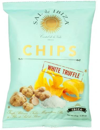 Patatas Fritas con trufa blanca y flor de sal de ibiza