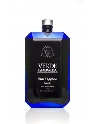 Verde Esmeralda Blue Sapphire ecológico