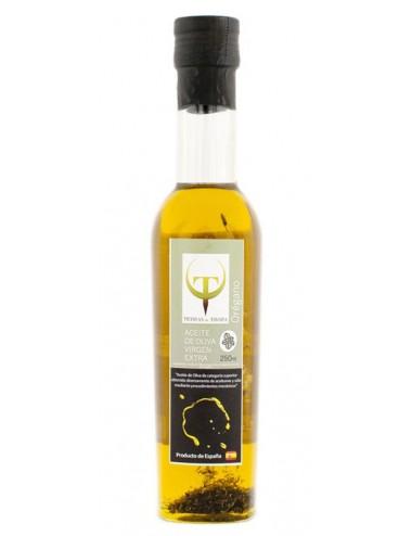 Aceite de Oliva Virgen Extra Tierrras de Tavara Aromatizado al Orégano