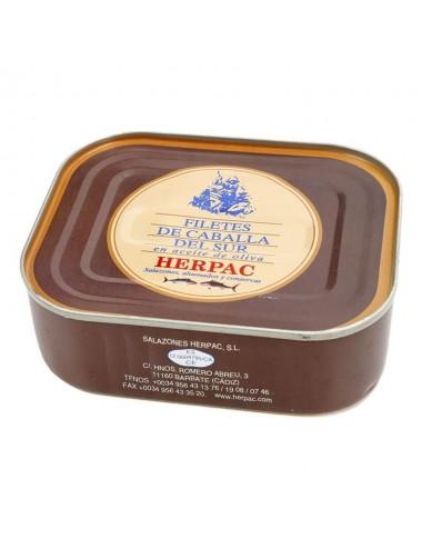 Filetes de Caballa en Aceite de Oliva Herpac