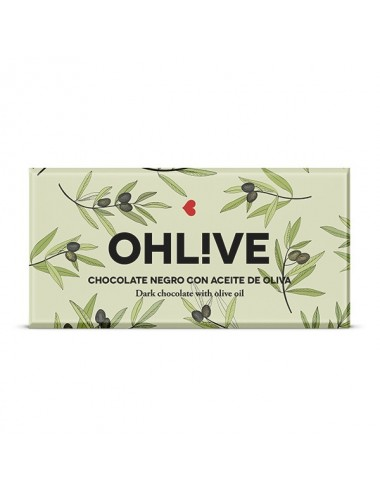 OhL!ve. Chocolate negro con aceite de oliva Young and Beautifood