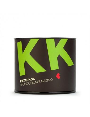 Pistachos cubiertos de chocolate negro Young and Beautifood