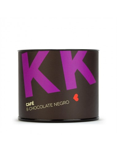 Granos de café cubiertos de chocolate negro Young and Beautifood