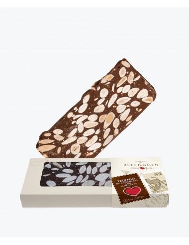 Trufado de chocolate con almendras