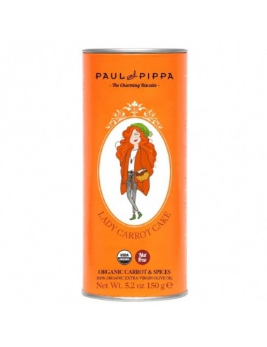 Galletas Ecológicas Lady Carrot Paul & Pippa 150 g