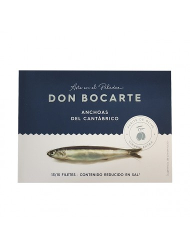 Anchoa Don Bocarte en Aceite de Oliva Virgen Extra 13-15 filetes