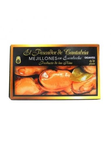 Mussels Rías Gallegas in Pickled Sauce