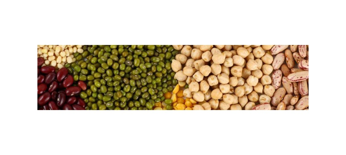 Legume: rice, brown rice, chickpeas, lentils, beans